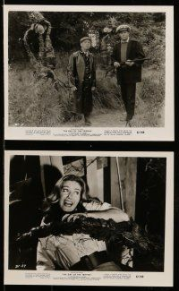 9s367 DAY OF THE TRIFFIDS 8 8x10 stills '62 classic English sci-fi horror, Howard Keel, Maurey!