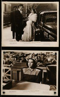 9s323 DISHONORED LADY 9 8x10 stills '47 sexy bad girl Hedy Lamarr, Dennis O'Keefe, film noir!