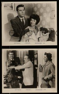 9s836 DOCTOR IN LOVE 3 8x10 stills '61 Michael Craig, James Robertson Justice, wacky!