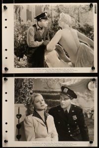 9s440 DOCTOR RHYTHM 7 8x11 key book stills '38 Bing Crosby, pretty Mary Carlisle, elephant & zebra!