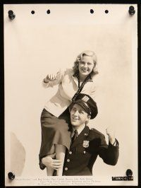 9s368 DOCTOR RHYTHM 8 8x11 key book stills '38 Bing Crosby, pretty Mary Carlisle, Devine, cast!