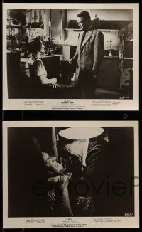 9s721 DONOVAN'S BRAIN 4 8x10 stills '53 great images of Lew Ayres, Nancy Davis, Steve Brodie!