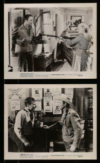 9s514 DOWN DAKOTA WAY 6 8x10 stills R56 cowboys Roy Rogers & Pat Brady, wacky fan stunt!