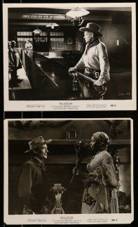 9s516 DUEL IN THE SUN 6 8x10 stills R60 Gregory Peck, Jennifer Jones, Joseph Cotten, Barrymore!