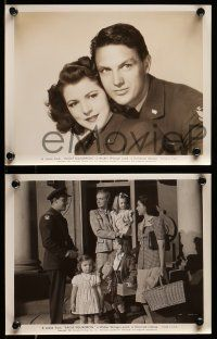 9s840 EAGLE SQUADRON 3 8x10 stills '42 WWII images of Robert Stack, sexy Diana Barrymore!