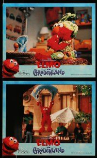 9s035 ELMO IN GROUCHLAND 8 8x10 mini LCs '99 Sesame Street Muppets, Vanessa Williams!
