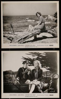 9s743 JOHNNY BELINDA 4 8x10 stills R56 Jane Wyman was alone with terror and torment, Lew Ayres!