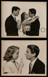 9s861 JUST THIS ONCE 3 8x10 stills '52 Peter Lawford, sexy Janet Leigh, Richard Anderson!