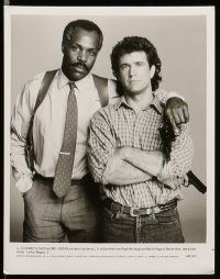 9s457 LETHAL WEAPON 2 7 8x10 stills '89 close up of partners Mel Gibson & Danny Glover in car!