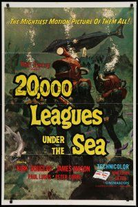 1f003 20,000 LEAGUES UNDER THE SEA 1sh R71 Jules Verne classic, wonderful art of deep sea divers!