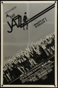 1f022 ALL THAT JAZZ int'l 1sh '79 Roy Scheider & Jessica Lange star in Bob Fosse musical!