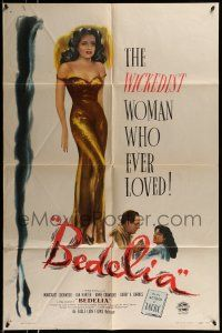 1f061 BEDELIA 1sh '47 sexy Margaret Lockwood is the wickedest woman who ever loved!