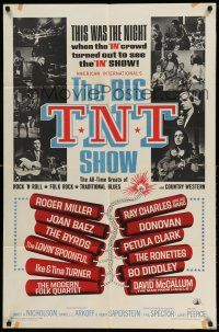 1f077 BIG T.N.T. SHOW 1sh '66 all-star rock & roll, traditional blues, country western & folk rock