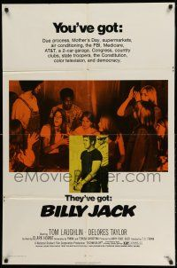 1f079 BILLY JACK 1sh '71 Tom Laughlin, Delores Taylor, most unusual boxoffice success ever!