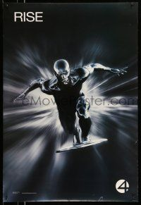 1k011 4: RISE OF THE SILVER SURFER style A teaser DS 1sh '07 Jessica Alba, Chiklis, Chris Evans!