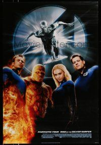 1k013 4: RISE OF THE SILVER SURFER style C DS 1sh '07 Jessica Alba, Chiklis, Chris Evans!
