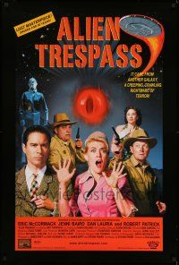 1k034 ALIEN TRESPASS DS 1sh '09 creeping, crawling nightmare of terror, can mankind be saved!