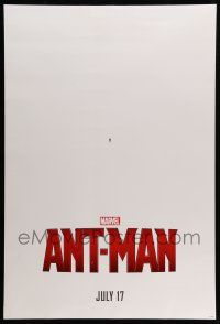 1k051 ANT-MAN teaser DS 1sh '15 Hayley Atwell, Evangeline Lilly, Paul Rudd in title role!