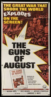1r794 GUNS OF AUGUST 3sh '64 World War I documentary, narrated by Fritz Weaver!