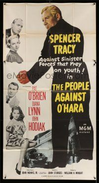 1r867 PEOPLE AGAINST O'HARA 3sh '51 Spencer Tracy against sinister forces that prey on youth!