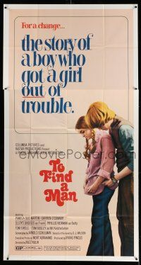 1r957 TO FIND A MAN 3sh '72 Buzz Kulik, the story of a boy who got a girl out of trouble!
