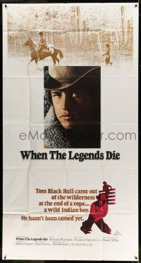 1r989 WHEN THE LEGENDS DIE int'l 3sh '72 Richard Widmark, first Frederic Forrest as Tom Black Bull!