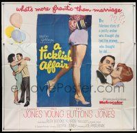 1r201 TICKLISH AFFAIR 6sh '63 sexy Shirley Jones, Gig Young, Red Buttons, Carolyn Jones!