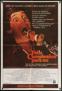 1r306 HAPPY BIRTHDAY TO ME Argentinean '81 gruesome shish kebab image, the most bizarre murders!
