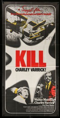 1r007 CHARLEY VARRICK English 3sh '73 Walter Matthau, Don Siegel, Kill Charley Varrick, different!