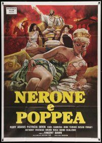 1r603 NERO & POPPEA: AN ORGY OF POWER Italian 1p '82 art of sexy Patricia Derek in Ancient Rome!