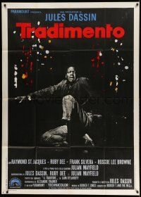 1r691 UP TIGHT! Italian 1p '69 Raymond St. Jacques, Informer re-make directed by Jules Dassin!