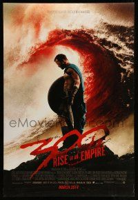 1w009 300: RISE OF AN EMPIRE March 2014 advance DS 1sh '14 sword & sandal action!