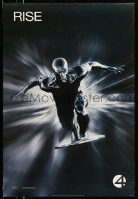 1w011 4: RISE OF THE SILVER SURFER style A teaser DS 1sh '07 Jessica Alba, Chiklis, Chris Evans!