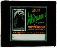 1x046 LES MISERABLES glass slide '15 French movie of Victor Hugo's masterpiece, in 8 parts!