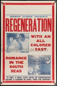 1y003 REGENERATION 1sh '23 beauty Stella Mayo, romance at sea with all-colored cast!