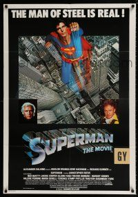 2b016 SUPERMAN South African '78 Christopher Reeve, Gene Hackman & Brando!