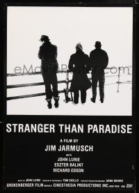 2b040 STRANGER THAN PARADISE export Swiss '84 Jim Jarmusch directed cult classic, Lurie, Balint!
