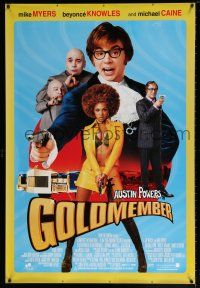 2b005 GOLDMEMBER DS Thai poster '02 Mike Myers as Austin Powers, Michael Caine, Beyonce Knowles