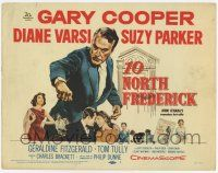 2f005 10 NORTH FREDERICK TC '58 Gary Cooper, Diane Varsi, from John O'Hara's best-seller!