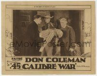 2f511 .45 CALIBRE WAR LC '29 cowboy Don Coleman holds pretty Jeanette Loff in his arms at last!