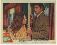 2f519 ACT OF VIOLENCE LC #5 '49 Robert Ryan lets himself in to find Janet Leigh's husband!