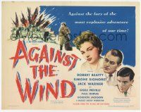 2f011 AGAINST THE WIND TC '49 Charles Crichton, Simone Signoret and Robert Beatty, Ealing!
