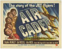 2f012 AIR CADET TC '51 the story of U.S. Air Force jet pilots, cool airplane art!