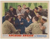 2f526 ANCHORS AWEIGH LC #6 R55 sailor Frank Sinatra & men listen to Gene Kelly's exciting story!