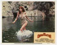 2f538 BEASTMASTER LC #5 '82 sexy Tanya Roberts in skimpy wet outfit walking in pool of water!