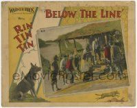2f546 BELOW THE LINE LC '25 Rin Tin Tin goes to a small village & helps all the good people!