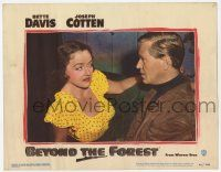 2f554 BEYOND THE FOREST LC #2 '49 David Brian is no match for Bette Davis & her famous eyes!