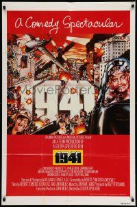 2g003 1941 1sh '79 Spielberg, art of John Belushi, Dan Aykroyd & cast by McMacken!