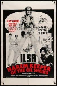 2g426 ILSA HAREM KEEPER OF THE OIL SHEIKS 1sh '76 sexy Dyanne Thorne returns as Ilsa!