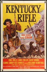 2g456 KENTUCKY RIFLE style A 1sh '55 with his wits, weapons & women he faced victory or sudden death
